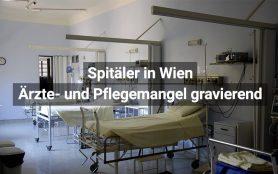 Ärzte- und Pflegemangel in Wiens Spitälern