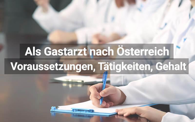 Gastarzt Österreich