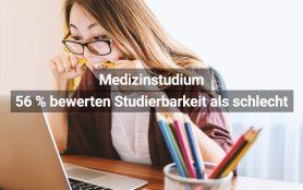Medizinstudium Studierbarkeit Schlecht