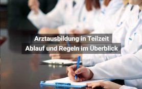 Arztausbildung In Teilzeit