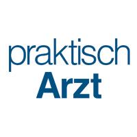 PraktischArzt Logo 2019 Blue Quadratisch Untereinander