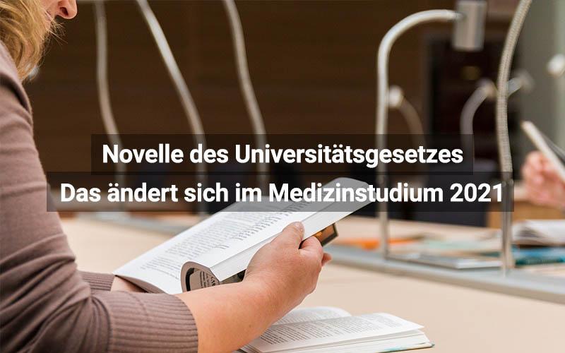 Novelle Des Universitätsgesetzes Österreich Medizinstudium
