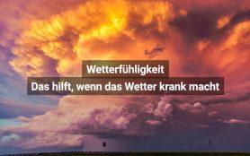 Wetterfühligkeit