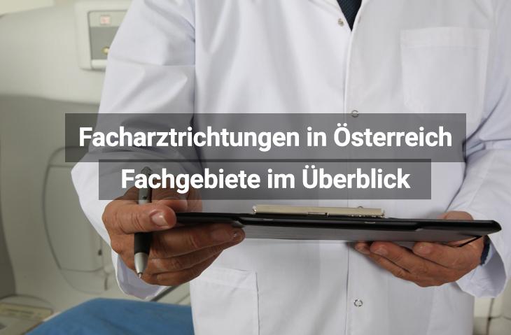 Facharztrichtungen Österreich