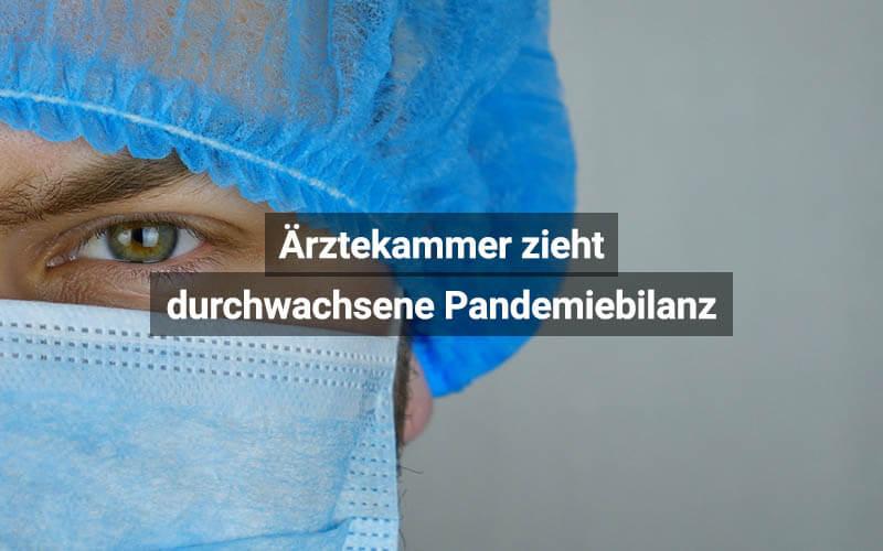 Ärztekammer Österreich Pandemiebilanz