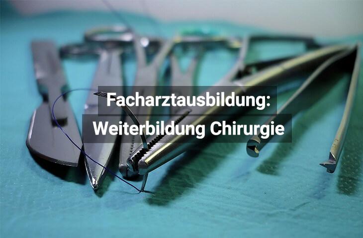 Facharztausbildung Chirurgie