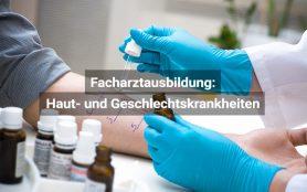 Facharztausbildung Haut Und Geschlechtskrankheiten