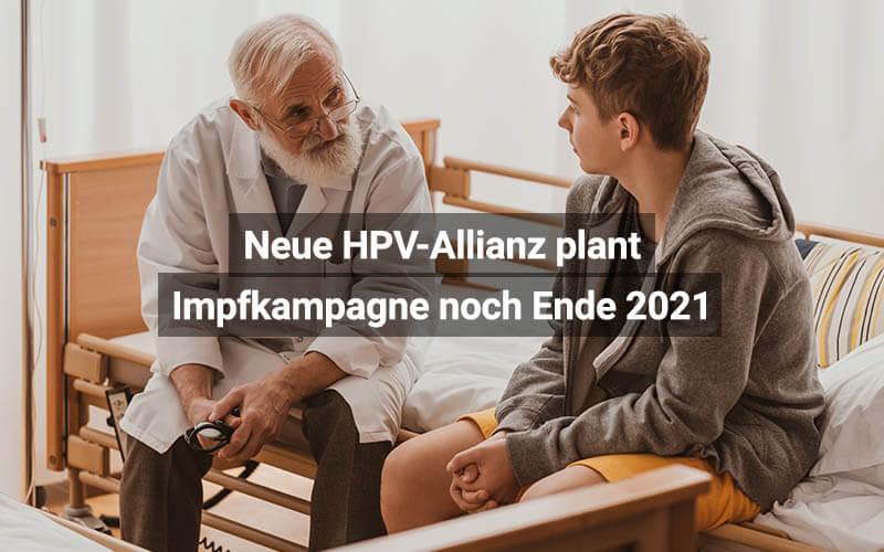 Neue HPV-Allianz Plant Impfkampagne Noch Ende 2021